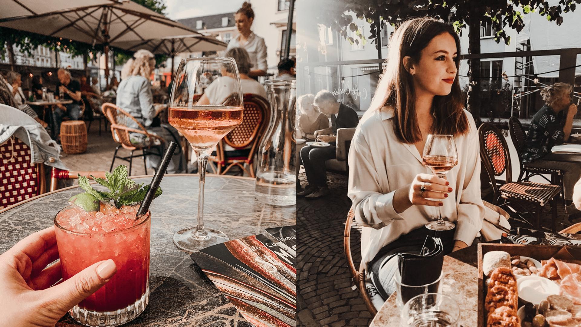 wijntje drinken in deventer